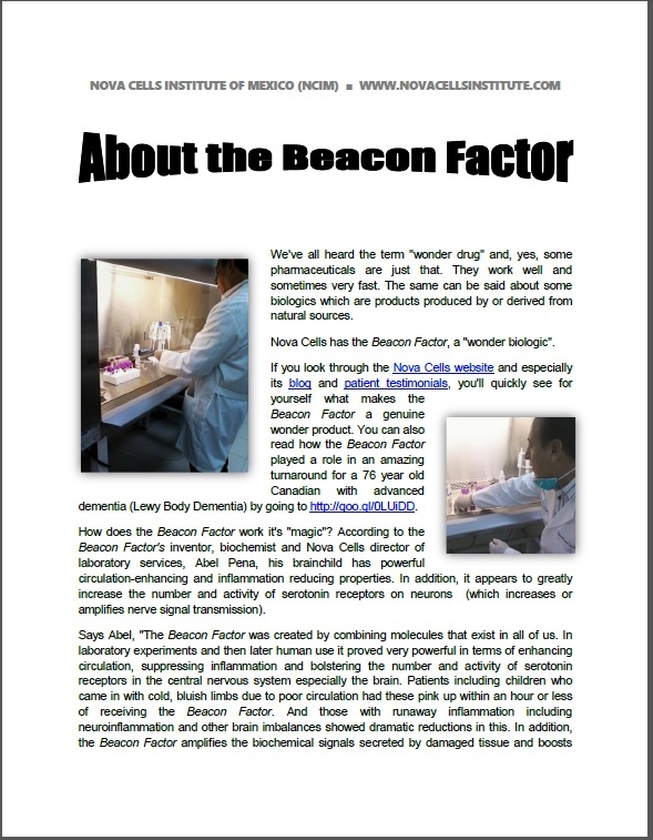 THE BEACON FACTOR