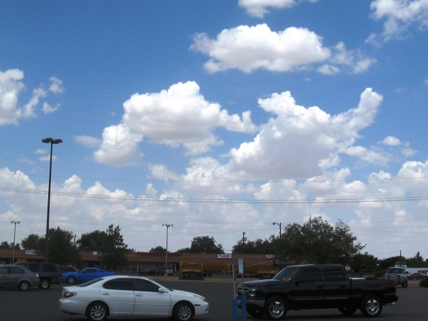 Clouds - the mark of summer in Plainview