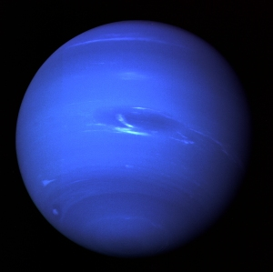 Neptune - image taken by Nasa's Voyager