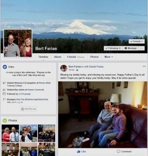 Bert M Farias FACEBOOK page